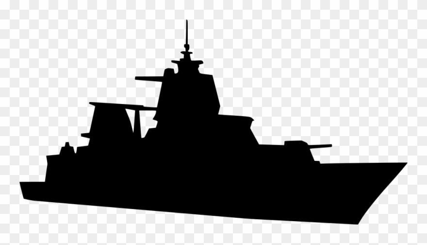 Navy ship clipart