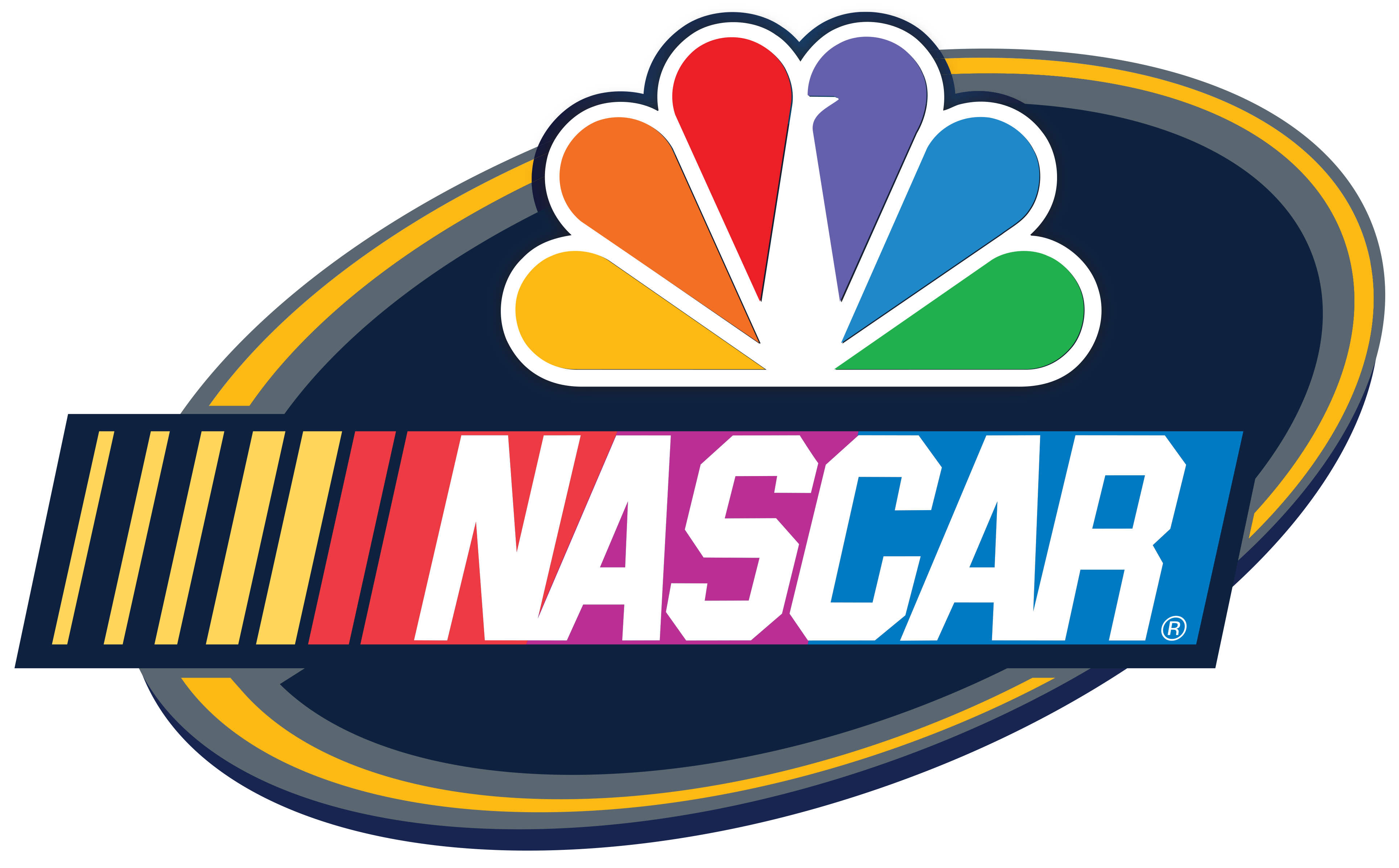 Nbcsn logo clipart png black and white library During Olympics, USA Network will air NASCAR races png black and white library