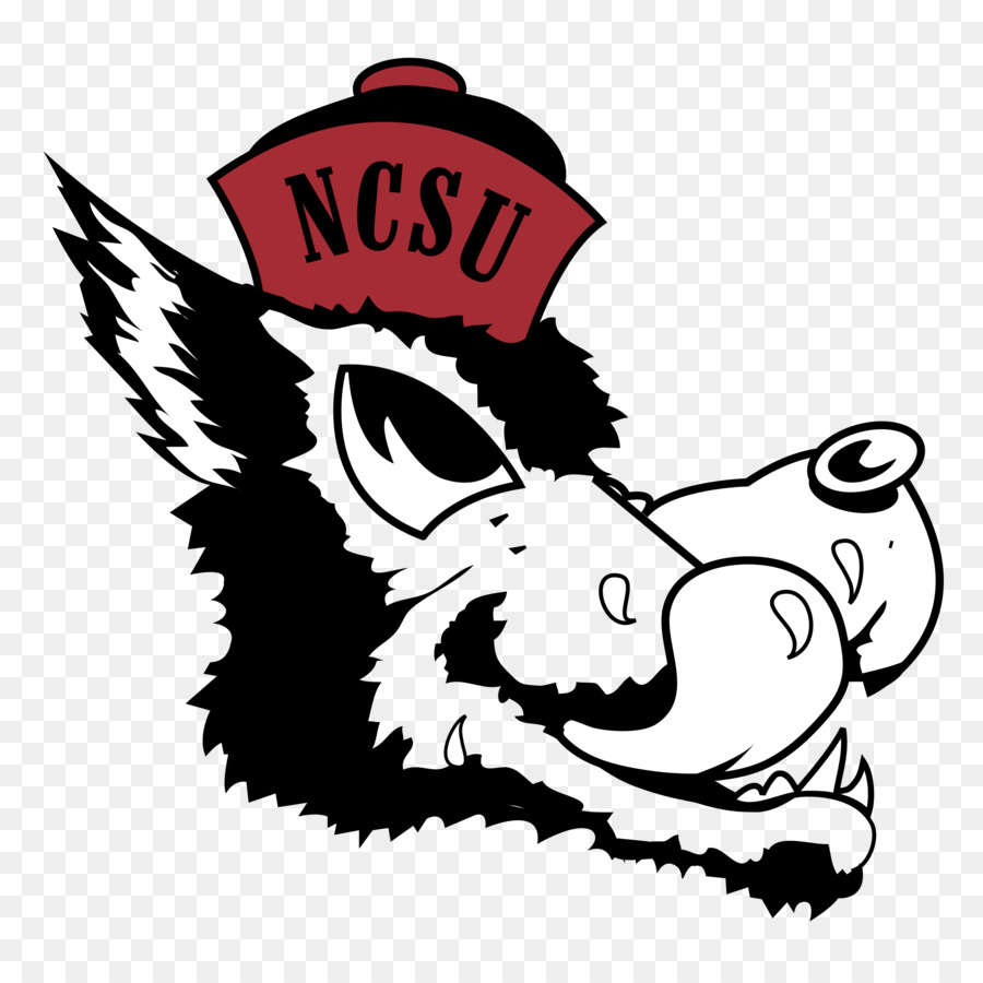 Nc state clipart png download Cartoon Football clipart - White, Black, Head, transparent clip art png download