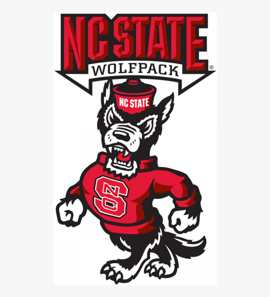 Nc state clipart clipart freeuse download Nc State Wolfpack Iron On Stickers And Peel-off Decals - Logo North ... clipart freeuse download