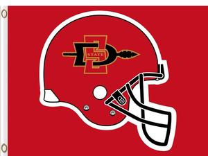 Ncaa san diego state helmet logo clipart svg library library San Diego State Aztecs – Tagged \