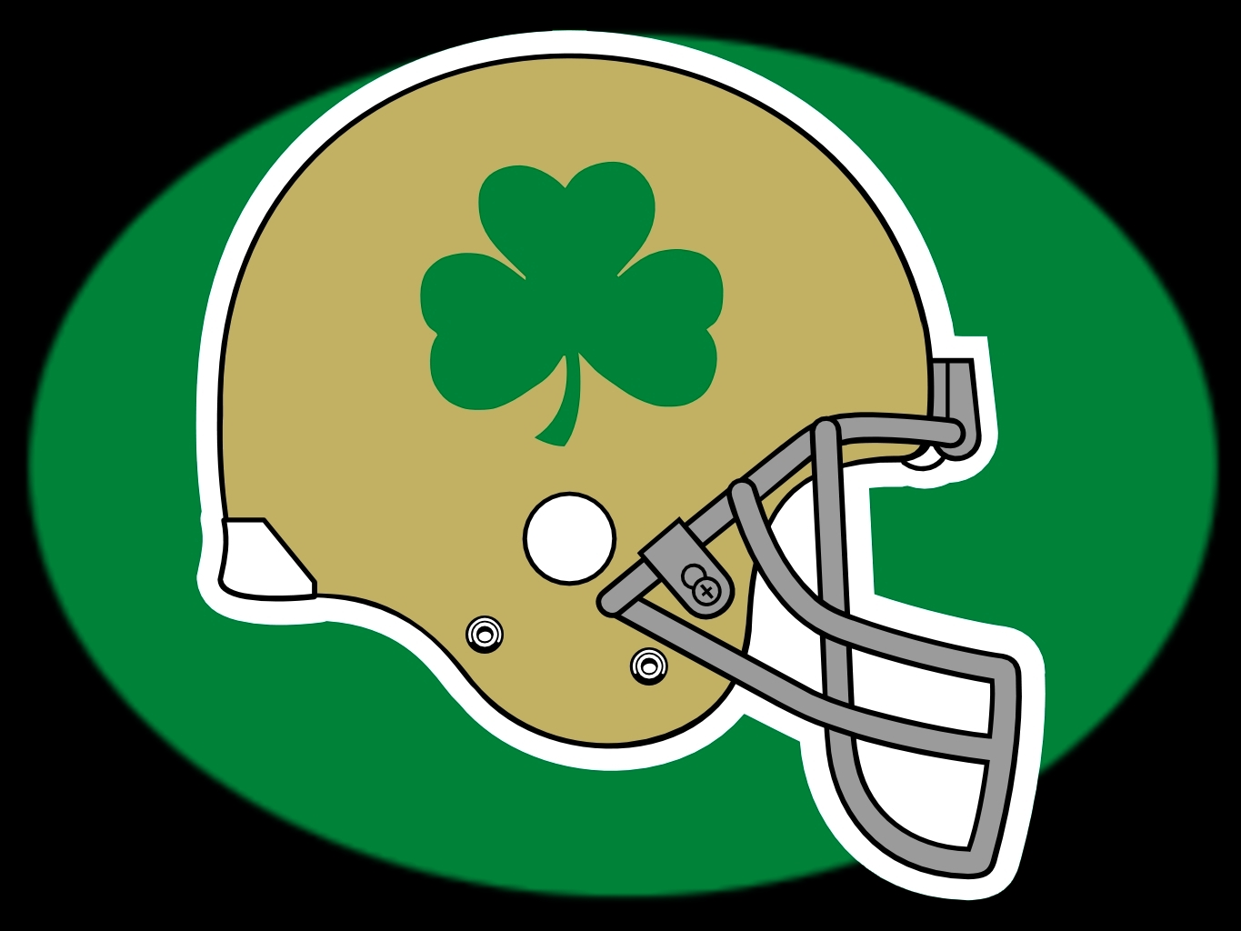 Nd football green clipart clip black and white Free Fighting Irish Cliparts, Download Free Clip Art, Free Clip Art ... clip black and white