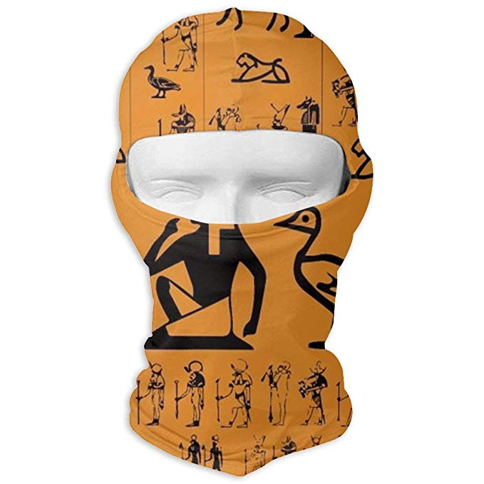 Neck warmer clipart clipart free Amazon.com: Windproof Ski Face Warmer Mask Ancient Egypt Clipart ... clipart free