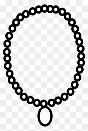 Download Free png 28 Collection Of Necklace Clipart Black And White ... clipart black and white stock