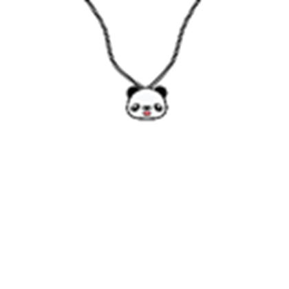 Necklace roblox clipart svg free stock Cute Adorable Panda Necklace - Roblox svg free stock