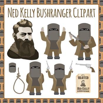 Ned kelly clipart clipart royalty free Bushranger Ned Kelly - Australian History Clip Art Pack for ... clipart royalty free