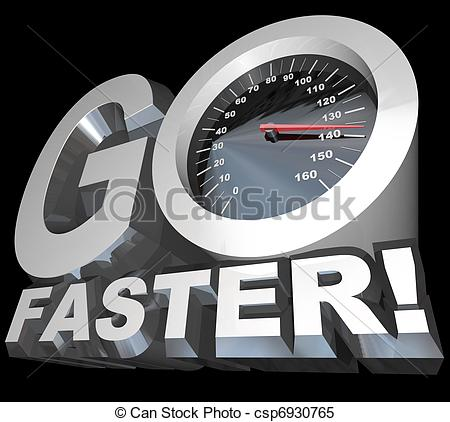 Need for speed clipart jpg royalty free Stock Illustrations of Go Faster Speedometer Racing to Successful ... jpg royalty free