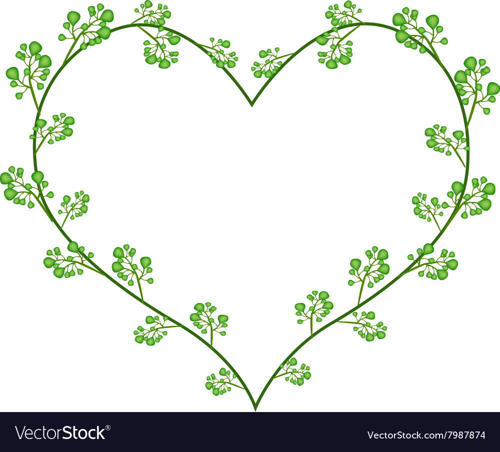 Neemin clipart vector black and white download Flowers of Neem in A Heart Shape vector black and white download