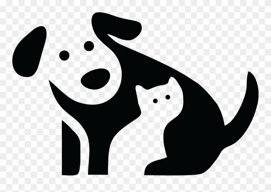 Negative space clipart banner stock Pet Food - Animal Logos With Negative Space Clipart ... banner stock