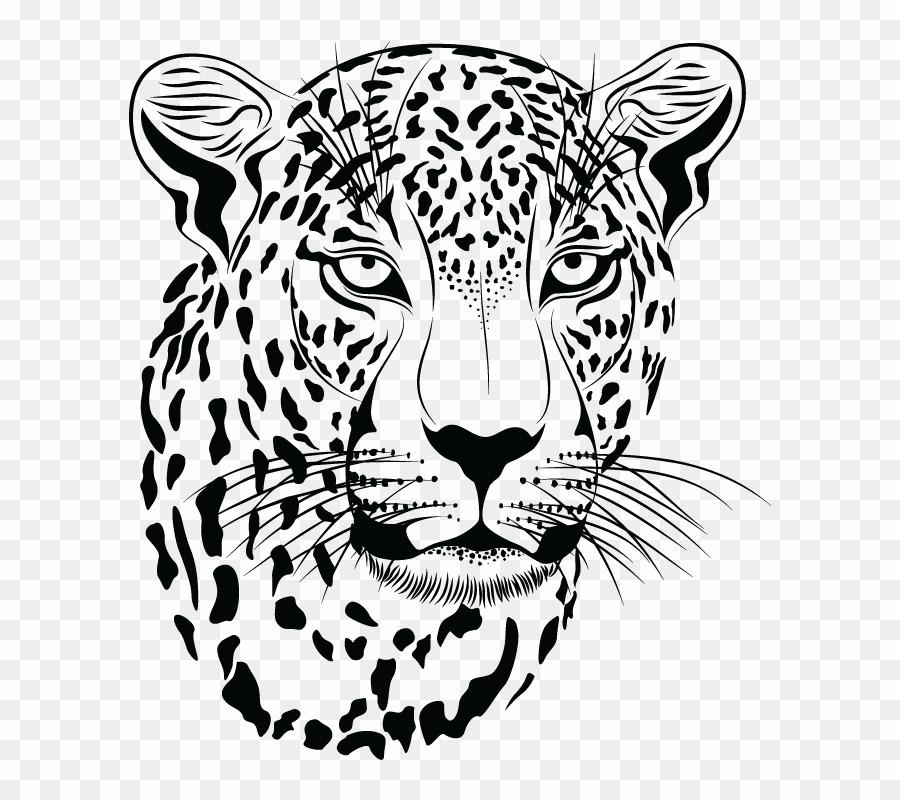 Negro clipart graphic freeuse library Jaguar Blanco Y Negro PNG Leopard Jaguar Clipart download ... graphic freeuse library