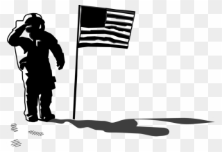Neil armstrong clipart banner freeuse download First On The Moon Astronaut Silhouette Space Exploration ... banner freeuse download