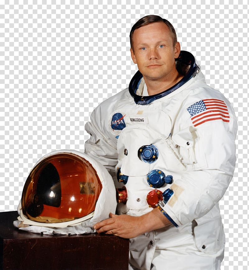 Neil clipart svg black and white library Astronaut in uniform, Neil Armstrong Apollo 11 First Man ... svg black and white library