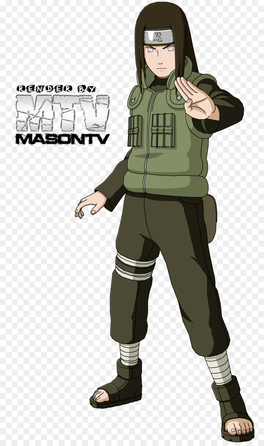 Neji hyuga clipart graphic royalty free library Soldier Cartoon png download - 1280*2153 - Free Transparent ... graphic royalty free library