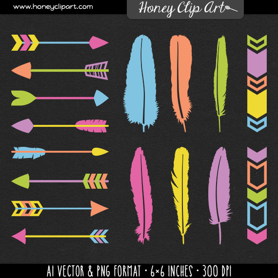 Neon cute arrow clipart graphic free download Neon cute arrow clipart - ClipartFest graphic free download
