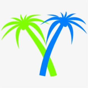 Neon palm tree clipart clip art library Double Trees Clip Art - Neon Palm Tree Png #947546 - Free ... clip art library