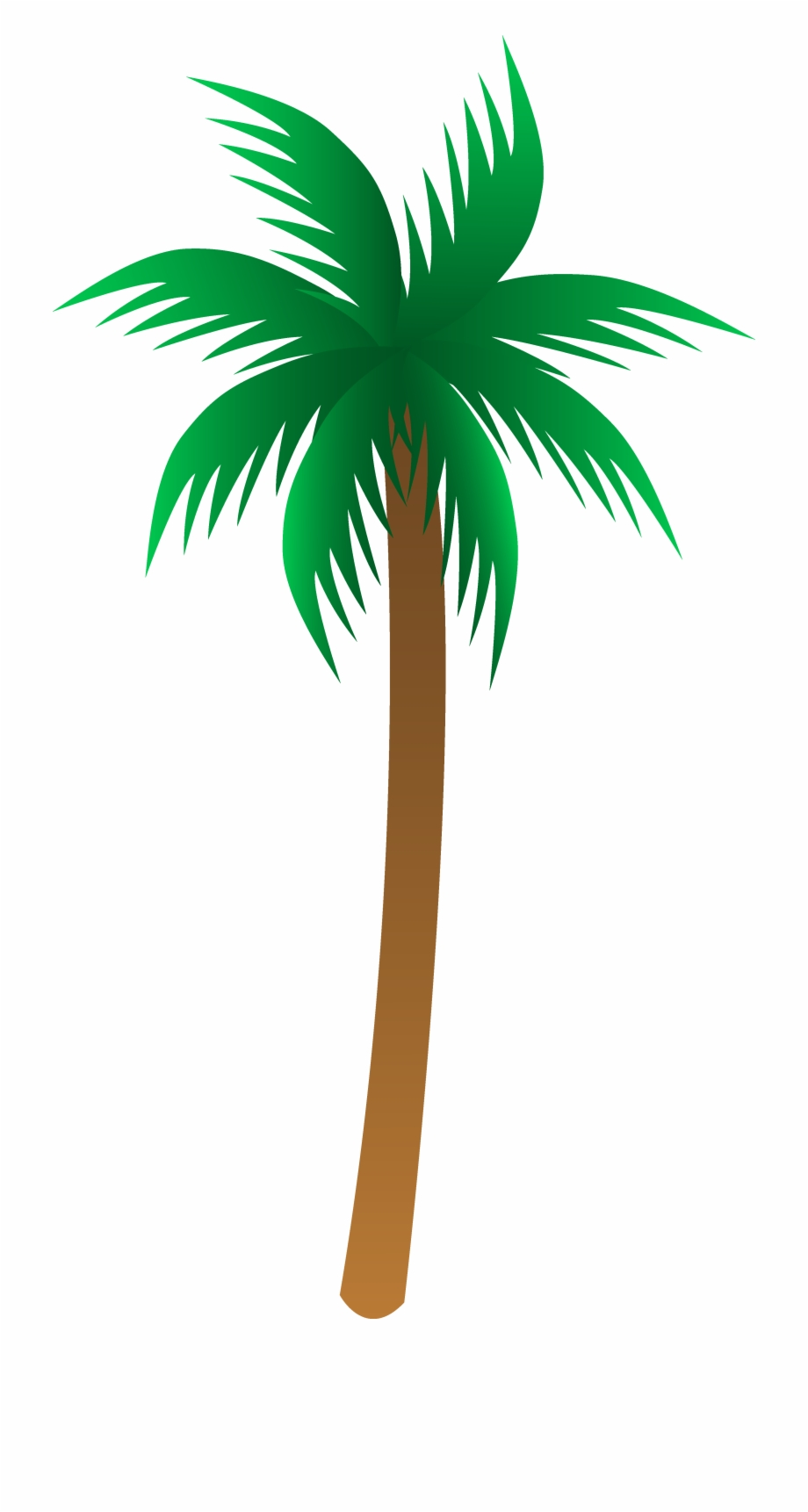 Neon palm tree clipart picture black and white Simple Palm Tree Vector - Palm Tree Vector Free Png Free PNG ... picture black and white