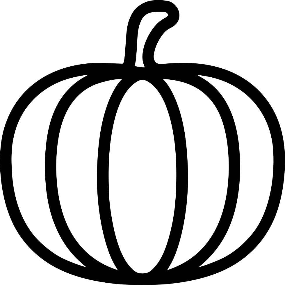 Open license black and white clipart pumpkin clipart black and white library Pumpkin Svg Png Icon Free Download (#431656) - OnlineWebFonts.COM clipart black and white library