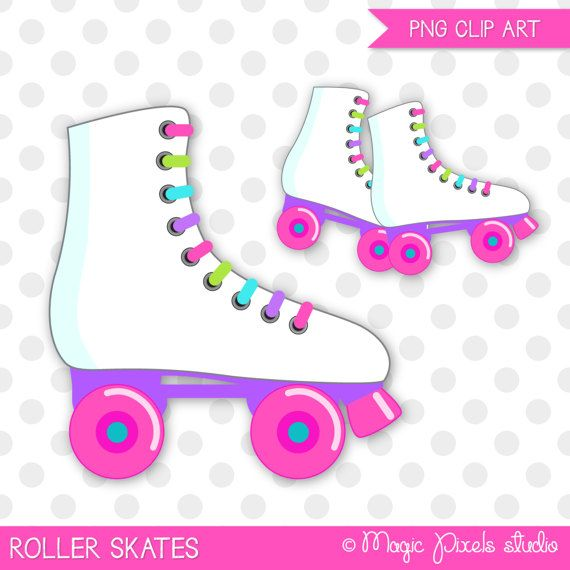 Neon roller skate clipart on black background clip royalty free library Roller skates clipart, Roller skating clip art, Skating ... clip royalty free library