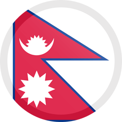 Nepal flag clipart graphic freeuse Nepal flag clipart - country flags graphic freeuse