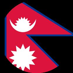 Nepal flag clipart jpg royalty free stock Nepal flag clipart - country flags jpg royalty free stock
