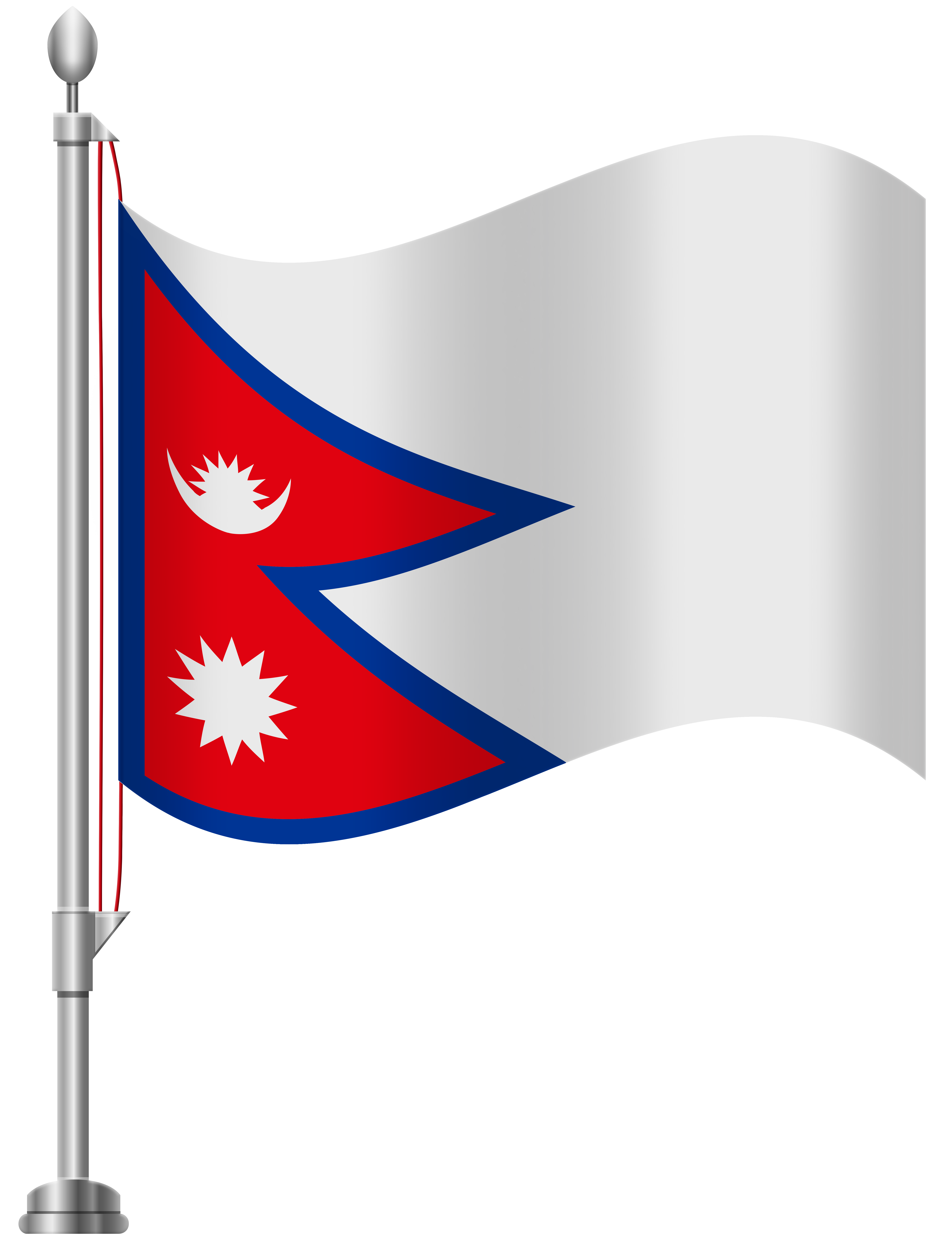 Nepal flag clipart free library Nepal Flag PNG Clip Art - Best WEB Clipart free library
