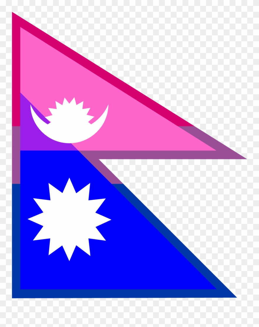 Nepal flag clipart picture royalty free library Flag Of Nepal Clipart (#931606) - PinClipart picture royalty free library