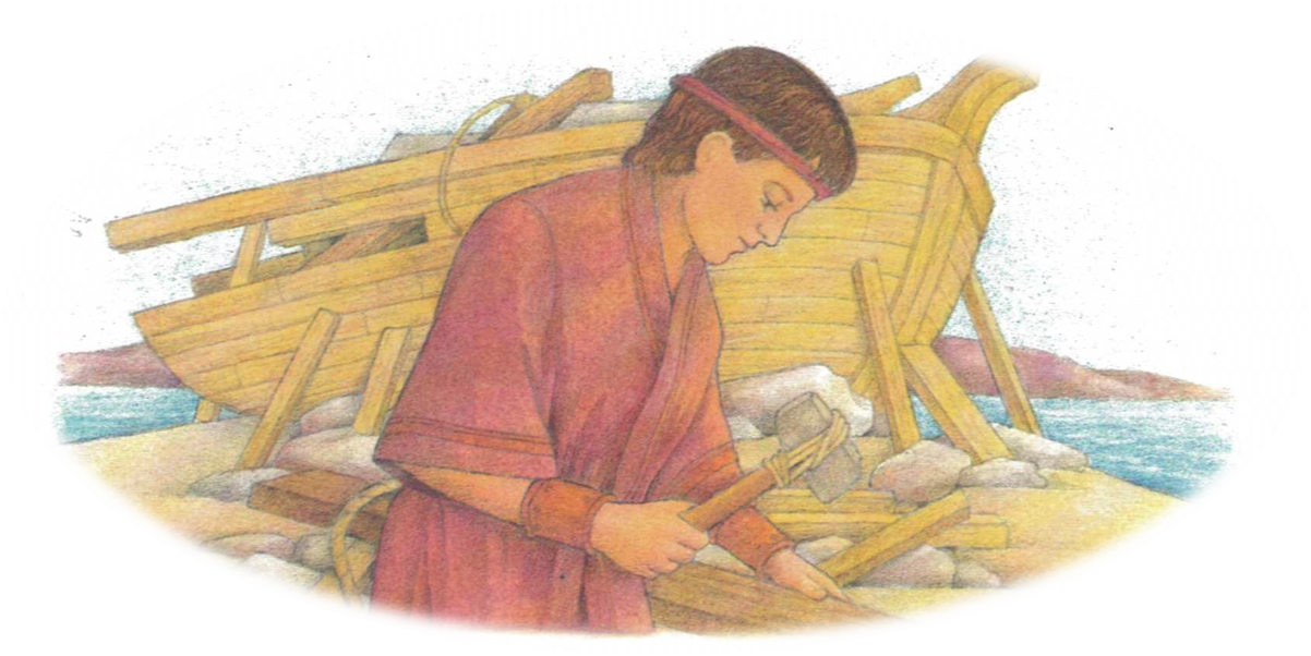 Nephi breaks his bow book of mormon clipart jpg library library PowToon - 1 Nephi 16-18 jpg library library