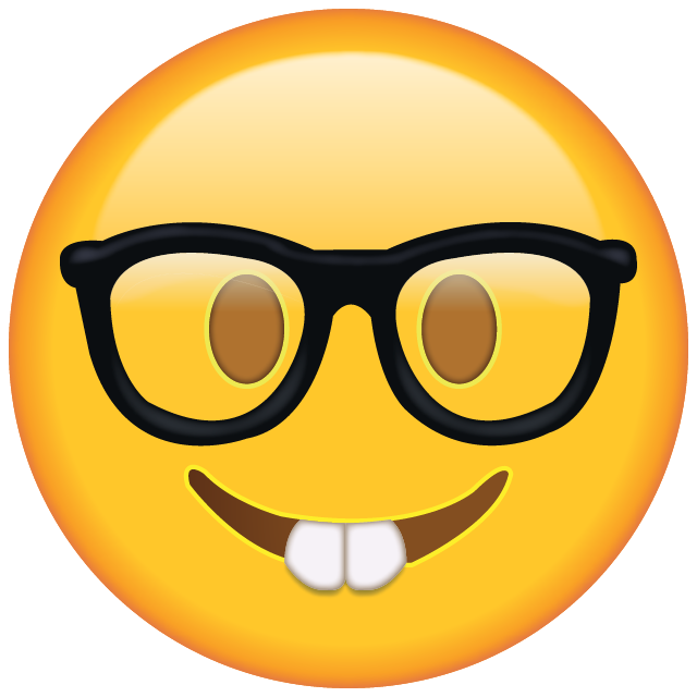 Nerd glasses clipart with apple clip free Download Nerd with Glasses Emoji | School | Pinterest | Emoji, Glass ... clip free