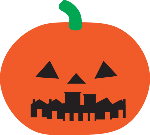 Pumpkin knock down cans clipart jpg freeuse library Halloween For Planning Nerds: CANDY DENSITY - Spacing Vancouver jpg freeuse library