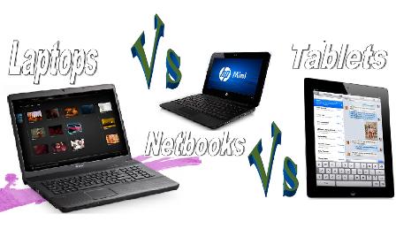 Netbook vs tablet jpg transparent stock Netbooks vs Laptops vs Tablets - Which one to buy? jpg transparent stock