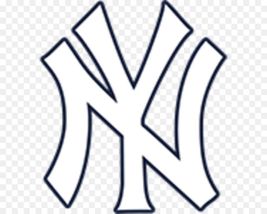 Yankees clipart black and white