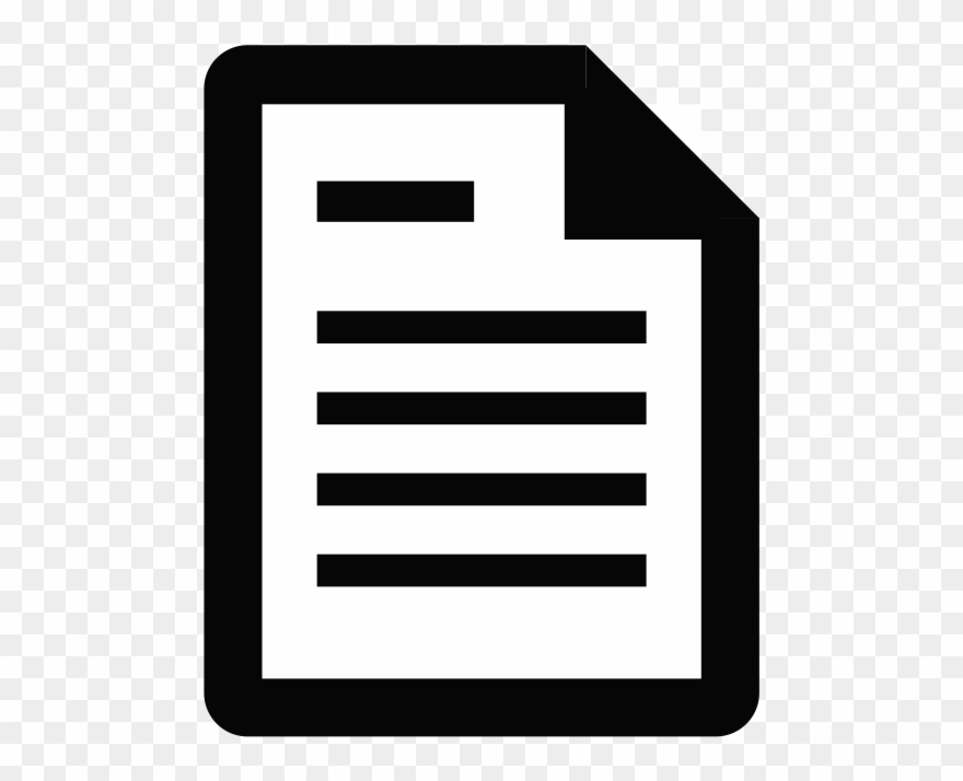 New document icon clipart freeuse library Icon - Document Icon White Png Clipart - Clipart Png ... freeuse library