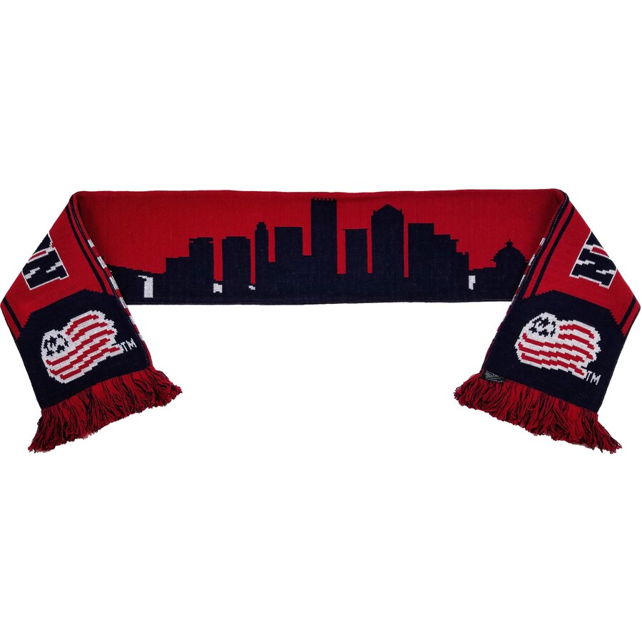 New england revolution clipart graphic free New England Revolution City Skyline Scarf graphic free