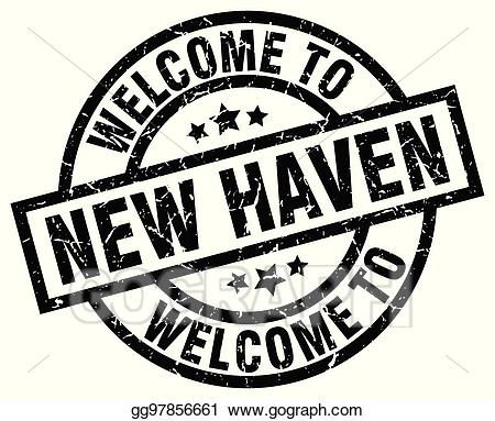 New haven clipart image royalty free stock Vector Art - Welcome to new haven black stamp. EPS clipart ... image royalty free stock