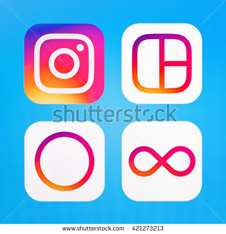 New instagram icon clipart clip royalty free stock Instagram New Icon 2016 Stock Photos, Royalty-Free Images ... clip royalty free stock