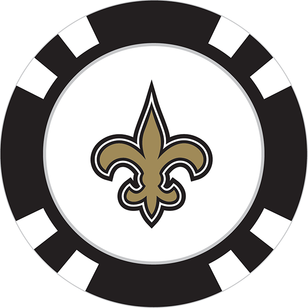 New orleans saints football clipart graphic free download Poker Chip - Page 3 of 4 - Team Golf USA graphic free download