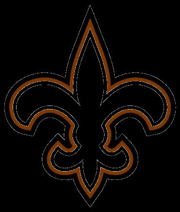 New orleans saints logo clipart graphic free New Orleans Saints Clipart - Clipart Kid graphic free