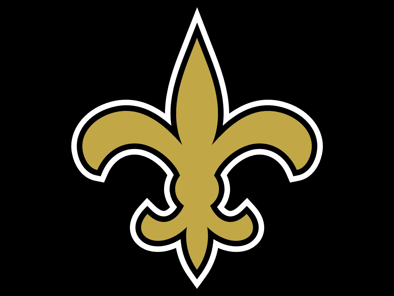 New orleans saints logo clipart png black and white download New orleans saints iphone clipart - ClipartFox png black and white download