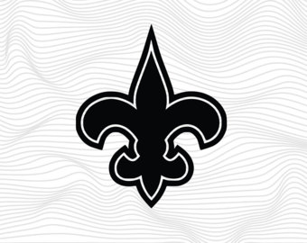 New orleans saints logo clipart free library Saints svg – Etsy free library