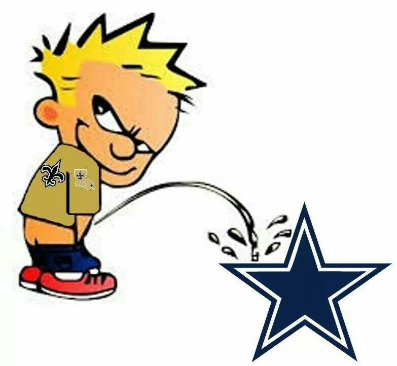 New orleans saints vs dallas cowboys funny clipart banner black and white Piss On Dem Cowgirls!!! | LOVE MY SAINTS!!! WHO DAT ... banner black and white