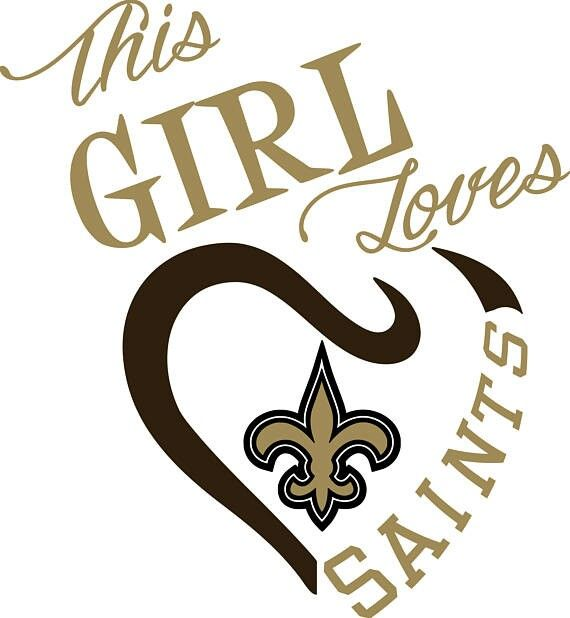 New orleans saints vs dallas cowboys funny clipart vector download This Girl Loves The New Orleans Saints. #Whodat | Who Dat ... vector download