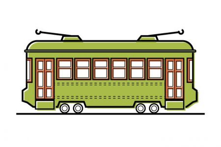 New orleans streetcar clipart picture royalty free download Collection of Streetcar clipart   Free download best ... picture royalty free download