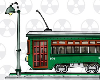 New orleans streetcar clipart clipart free stock New orleans streetcar clipart 5 » Clipart Portal clipart free stock