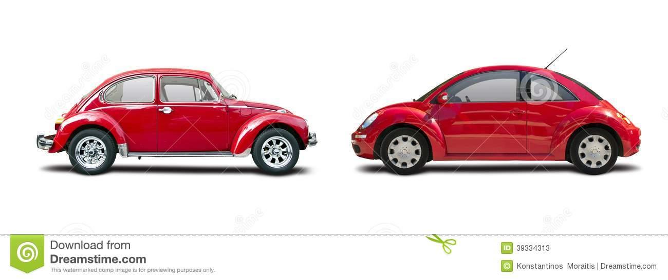 New vs old clipart free stock Classic Car Vs New Car Stock Photo - Image: 39334313 free stock