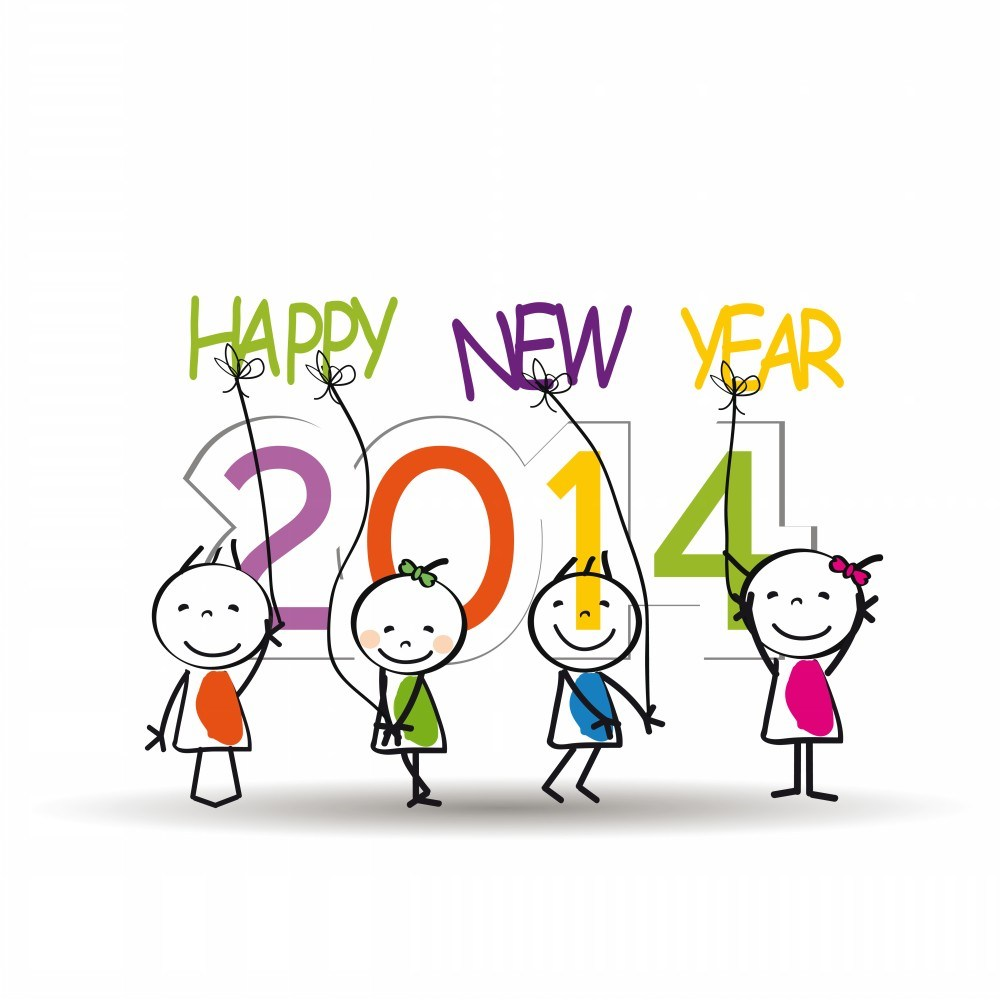 New year clipart 2014