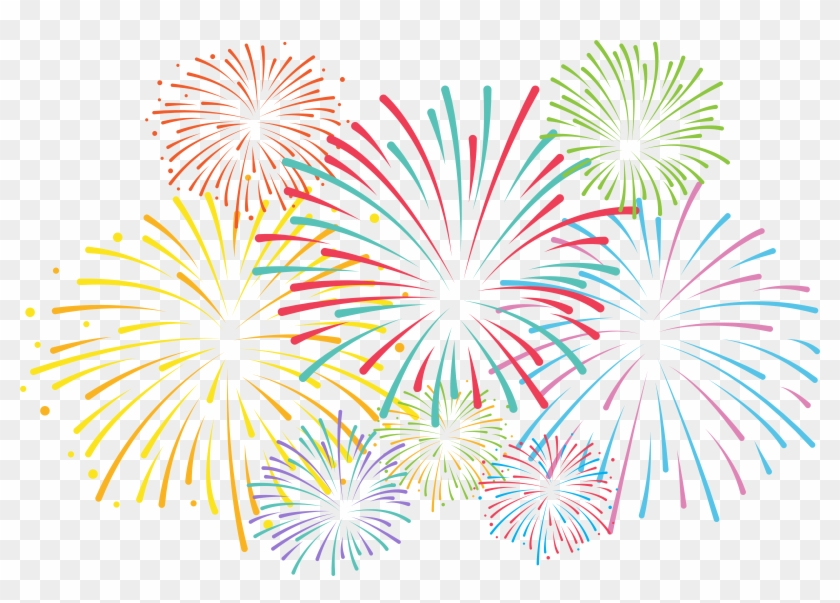 New year fireworks clipart black and white library Fireworks Clipart Google Search Color Logo Clipartix - New Year ... black and white library