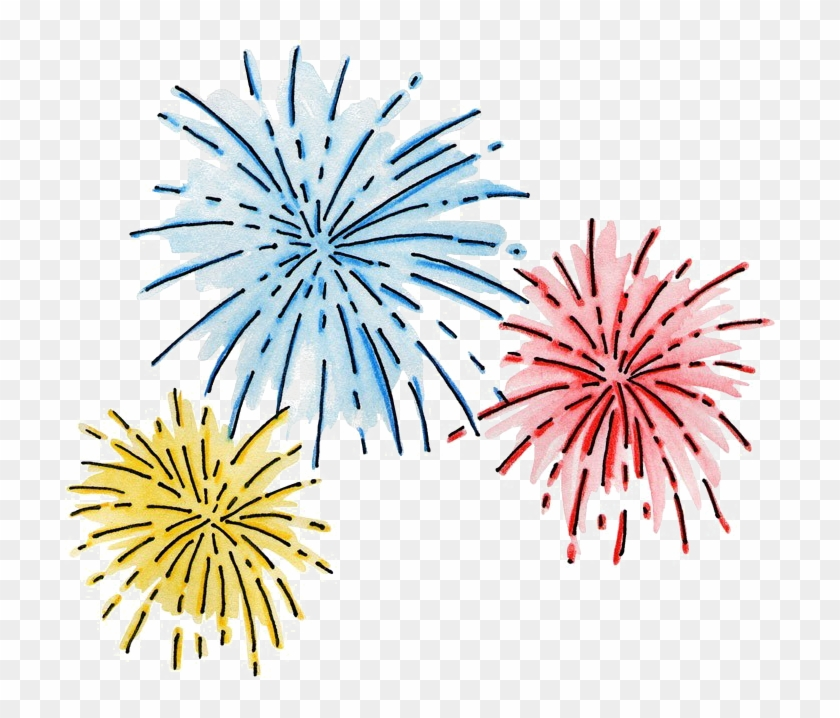 New year fireworks clipart clip black and white stock New Year Fireworks Clipart, HD Png Download - 710x638(#2450564 ... clip black and white stock