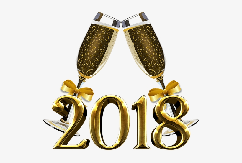 New years eve 2018 clipart graphic library download New Year Party Png Jpg Black And White Stock - New Year\'s Eve 2018 ... graphic library download