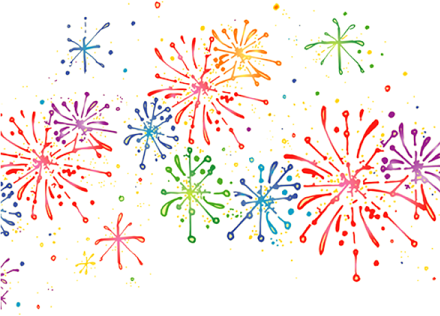 New years fireworks clipart svg free stock HD Confetti Clipart New Years Eve - Fireworks Clipart Transparent ... svg free stock