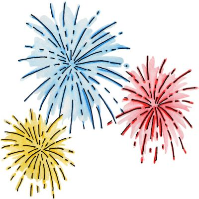 New years fireworks clipart vector black and white download New Years Eve Clipart & Look At Clip Art Images - ClipartLook vector black and white download